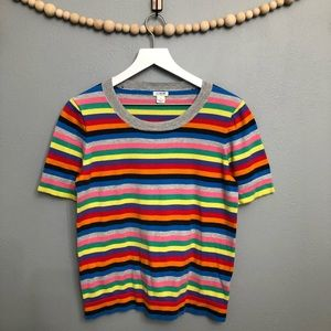 J.Crew medium sized rainbow top